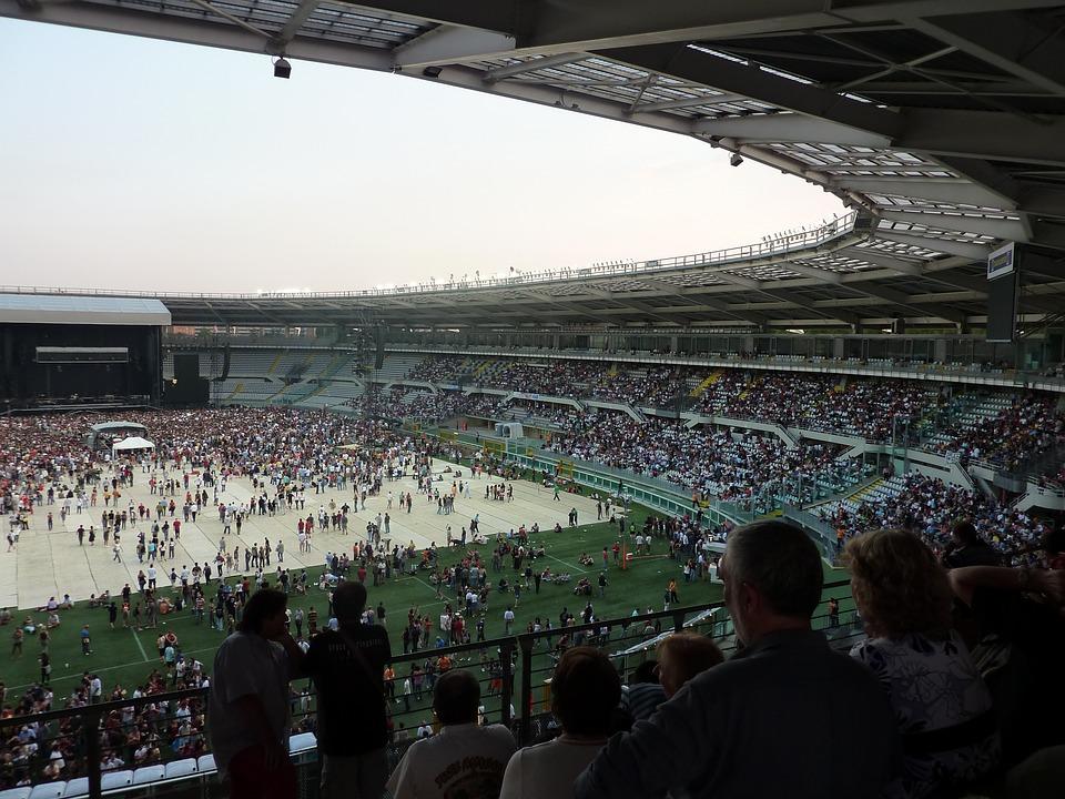 Stadium Concert Stage Turin