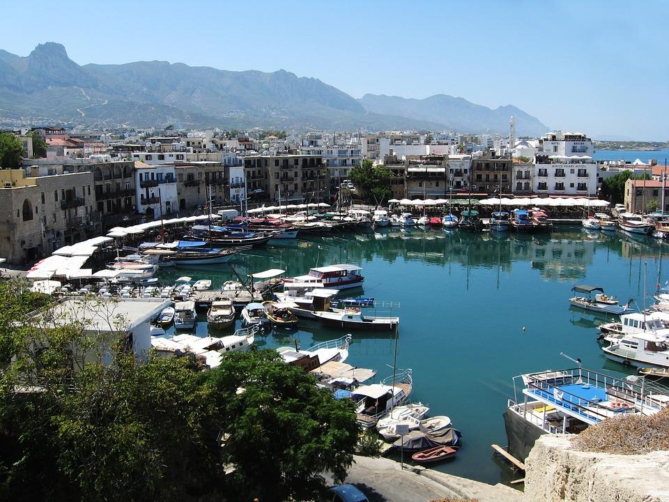 Kyrenia, City, Cyprus, Landscape, Travel, Mediterranean