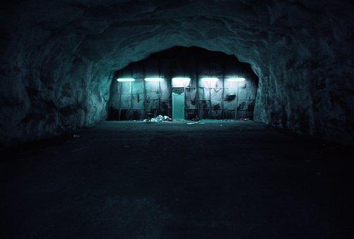 Bunker, Dark, Basement, Soprum, Bunker
