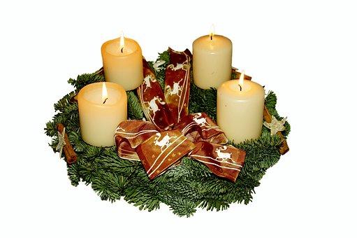 Couronne De L'Avent, Avent, Noël