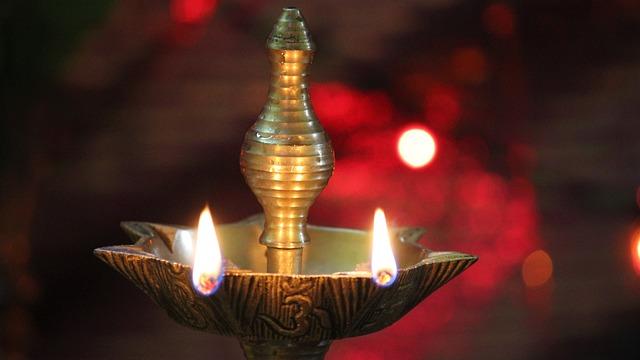High Resolution Diwali Wallpapers: Free Photo: Lamp, India, Temple, Diya