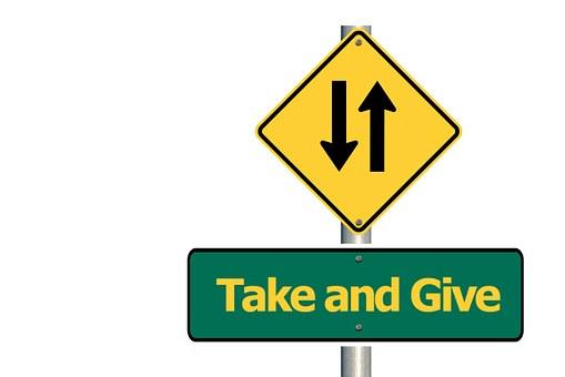 Road Sign, Donation, Arrows, Font