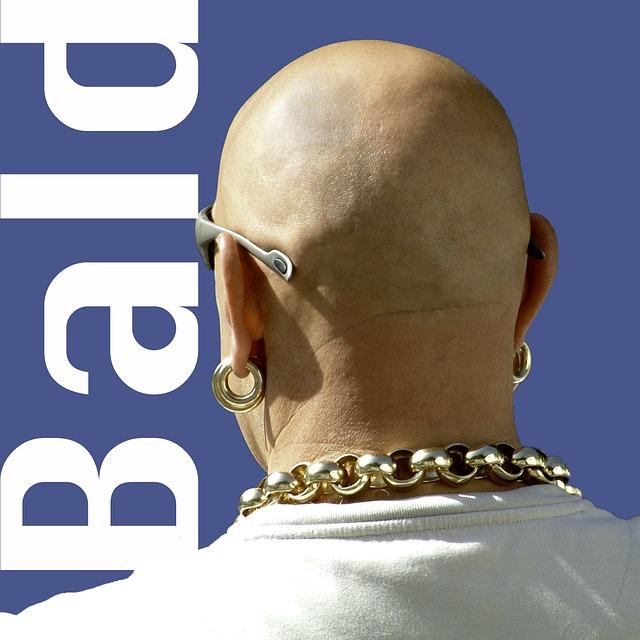 free photo  bald  man  macho  earring  gold