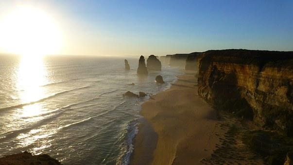 Australia's Top Ten Natural Beauty Spots for 2020 Cliff, 12 Apostles, Australia, Sunset