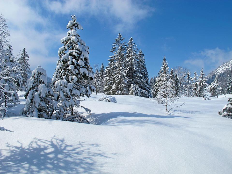 allg u winter landschaft kostenloses foto auf pixabay. Black Bedroom Furniture Sets. Home Design Ideas