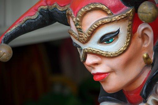Mardi Gras, Joker, Carnival Figure