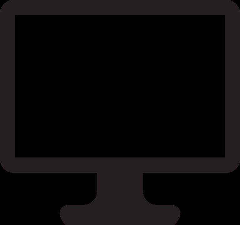 Image vectorielle gratuite moniteur cran ordinateur for Photo ecran ordinateur