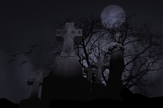 Cemetery Spooky Graveyard · Free photo on Pixabay