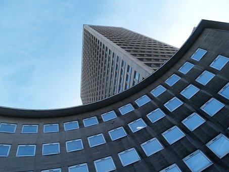 建物, 本社ビル, デザイン, アーキテクチャ, 窓, 企業