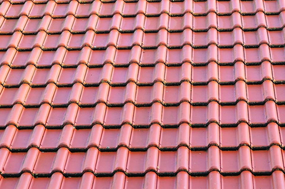 Dach Haus Dachziegel Neu Dachplatten Architektur