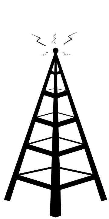 cellphone tower network  u00b7 free vector graphic on pixabay