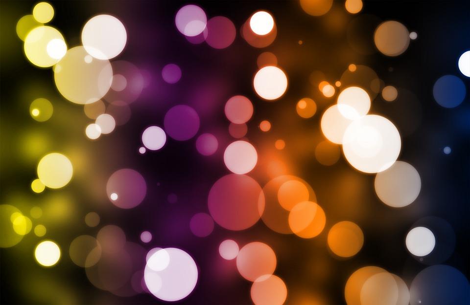 Neon Lumineux Decoration : Bokeh fond d Écran couleur · photo gratuite sur pixabay