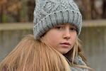 child, girl, long hair