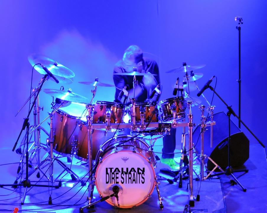 Redoblante, Dire Straits, Tambores, Italia, Música