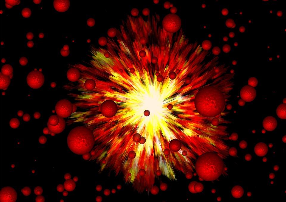 Fuoco, Esplosione, Big Bang, Malattia, Spasmo
