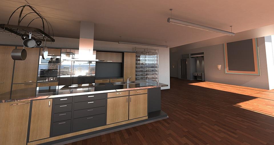 Moderne Kunst Keuken : Keuken kamer moderne digitale · gratis foto op pixabay