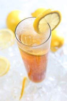 Lemon Tea Cold Beverages Summer Offerings