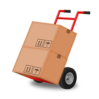 Hand Truck, Hand Trolley, Steekkar, Box