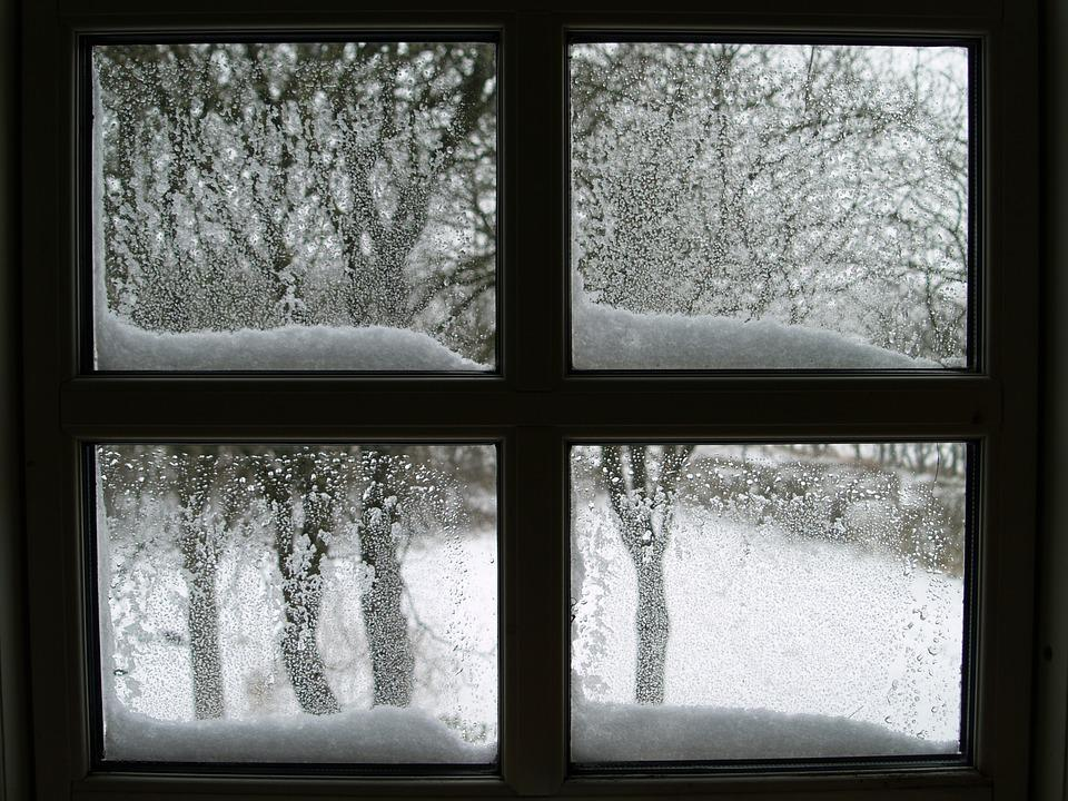 Free photo window snow lattice windows free image on pixabay