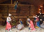 crib, father christmas