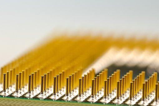 Pins, Cpu, Processor, Macro, Pen