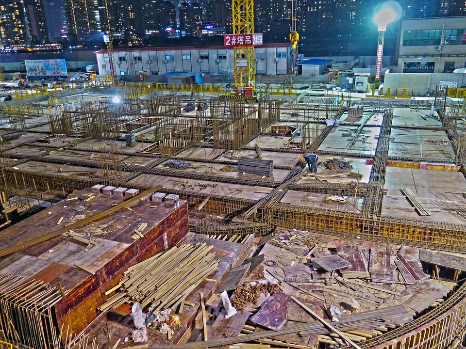 Site, Skyscraper, Construction Work, Build