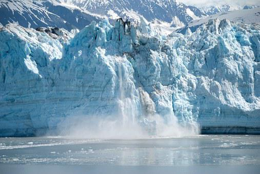 Alaska, Glacier, Ice, Calving, Alaska