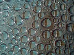 drop of water, condensation, fractal