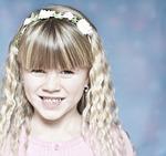 child, girl, blond