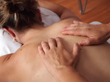 Physiotherapy, Massage, Back, Relax