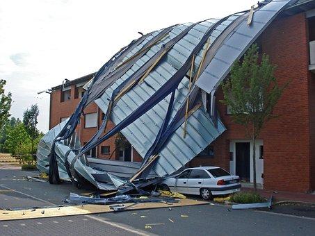 Tornado Storm Forward Winter Storm Roof St