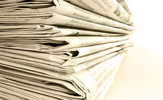 Newspaper, Stack, Newspapers, Read