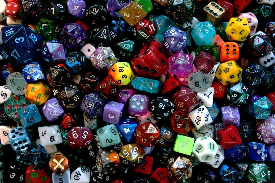 Cubo, Jugar, Dados, Colorido, Velocidad Instantánea