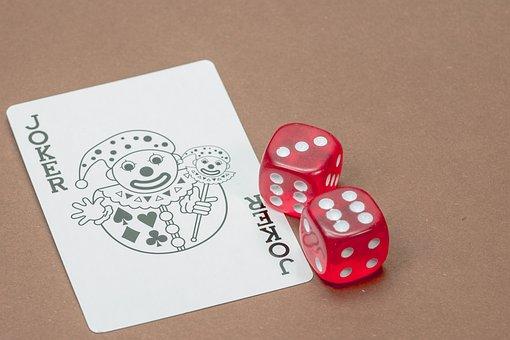 Map, Joker, Playing Card, Dice