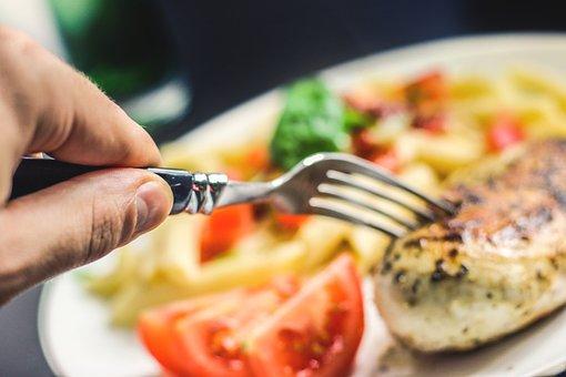 Carne, Horquilla, Los Alimentos, Comer