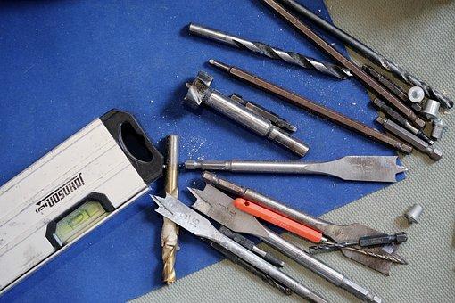 Werkzeuge, Diy, Bohrer, Metall