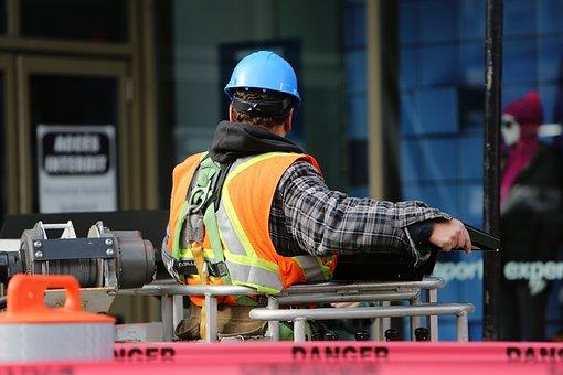 Obrero De La Construcción Trabajo Trabajad