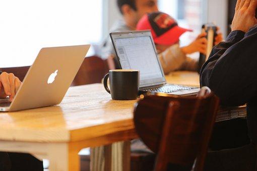 Notebooks, Cafe, Blog, Mobile