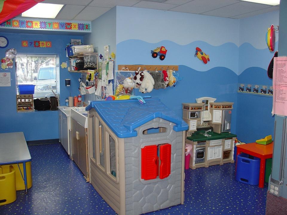 Toddler Room, Play Kitchen, Kindergarden
