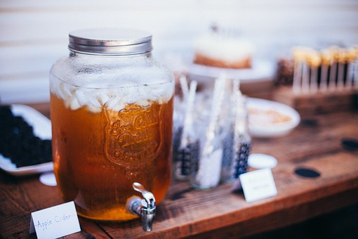 Apple Cider, Vintage, Food, Drink, Glass