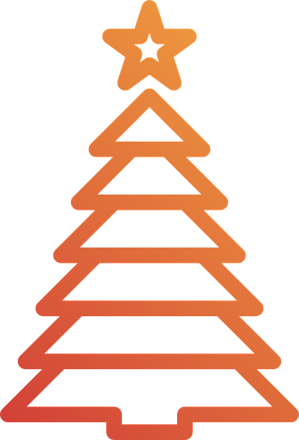 free vector graphic christmas tree holidays christmas free image on pixabay 570664 - Orange Christmas Tree