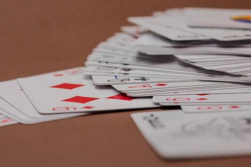 Card Game, Cards, Playing Cards, Heart