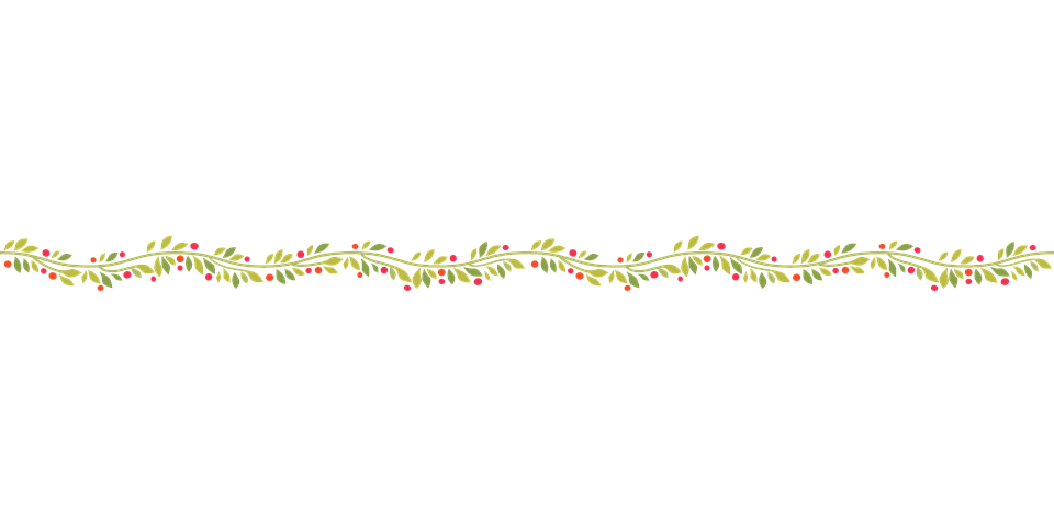 Free vector graphic wavy garland decoration free for Decoration png