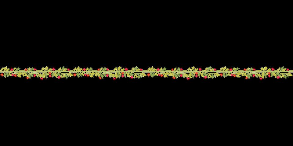 Garland Christmas Xmas Free Vector Graphic On Pixabay