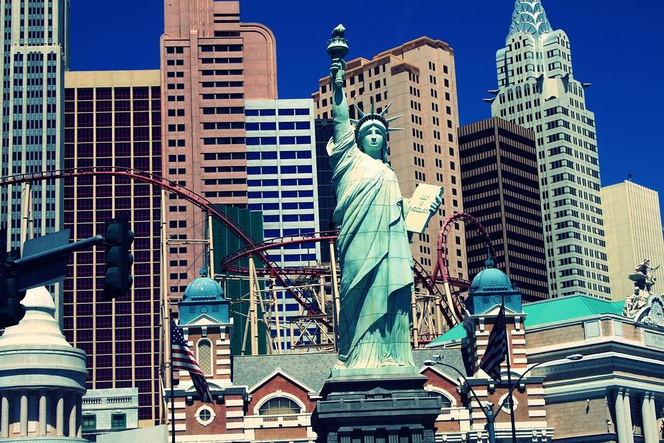 Gratis foto: Las Vegas, Vrijheidsbeeld, Stad - Gratis afbeelding op Pixabay - 571526