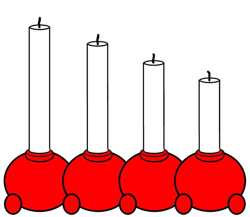 Flott Advent Lysestake Stearinlys - Gratis bilde på Pixabay MP-69