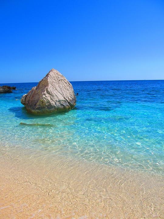 Sardegna Cala Mariolu Mare Foto Gratis Su Pixabay