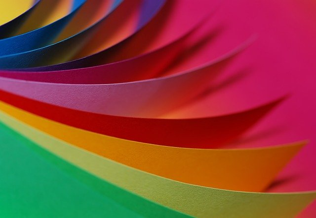Free Photo Paper Colorful Color Loose Free Image On