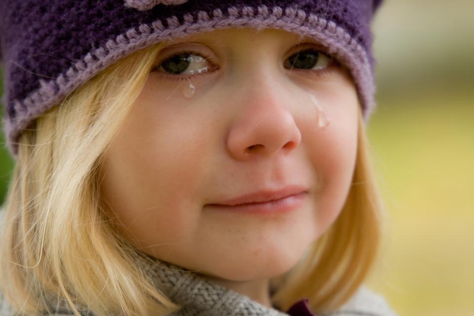 Weinen, Kinder, Schrei, Herbst