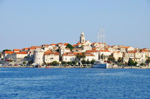 Korcula, Kroatia, City, Mediterranean